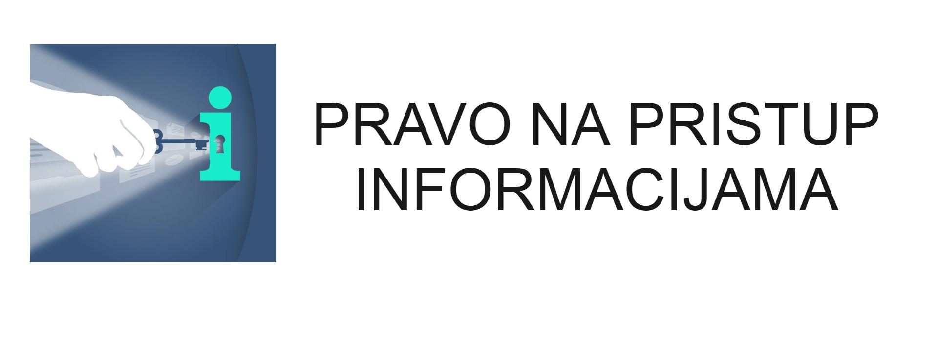 pravo na pristup informacijama banner